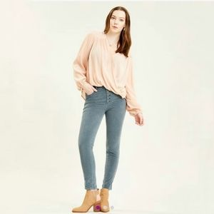 Free People Sun Chaser High Rise Skinny Jean 31